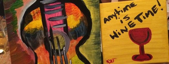 Arte Wine and Painting Studio is one of Kyana'nın Beğendiği Mekanlar.