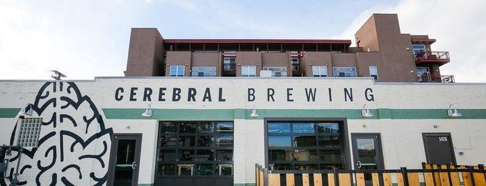 Cerebral Brewing is one of Denver.