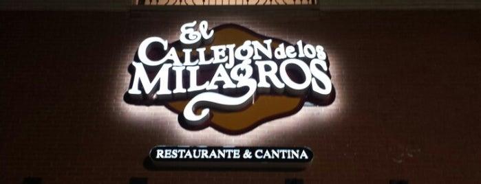 El Callejon de los Milagros is one of Dinner.