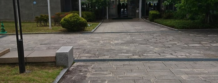 堺市原池公園体育館 is one of R_list.