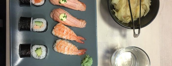 KOKORO Sushi is one of Lugares guardados de Salla.