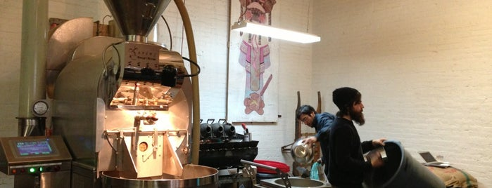Brooklyn Roasting Company is one of cold brew fix - NY airbnb.
