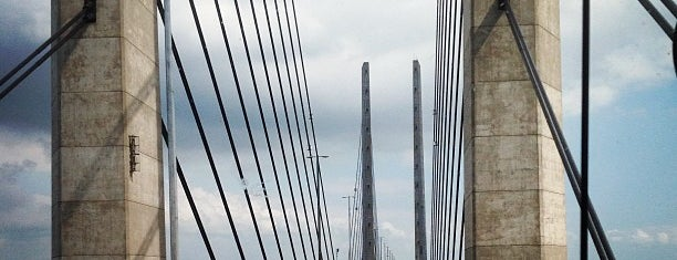 Øresundsbron is one of Malmö & Lund.