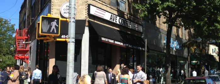 Avenue Coffee House is one of Queens.