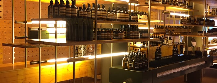 Aesop is one of zurich.