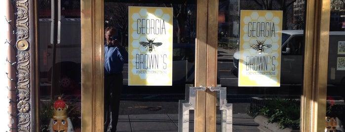 Georgia Brown's is one of Posti che sono piaciuti a Dmitri.