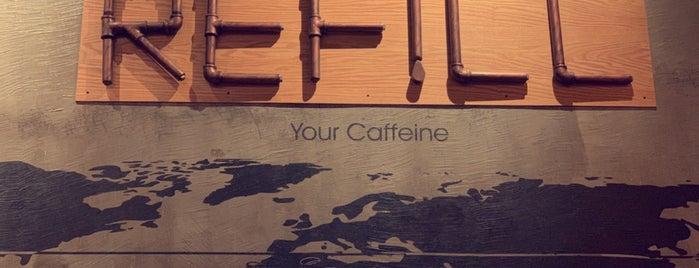 Refill Coffee is one of Lugares guardados de Queen.