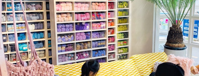 BigKnit Cafe is one of Huang 님이 좋아한 장소.