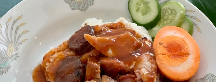 ข้าวหมูแดง นครสนุก is one of Bangkok.