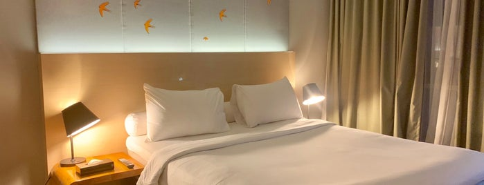Hotel Ibis Style Jakarta Airport is one of Orte, die Huang gefallen.