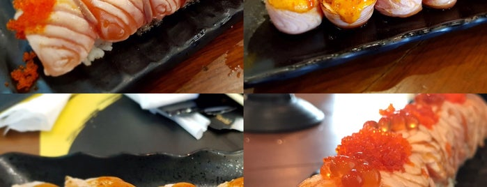 Kouen Sushi Bar is one of Locais curtidos por Huang.