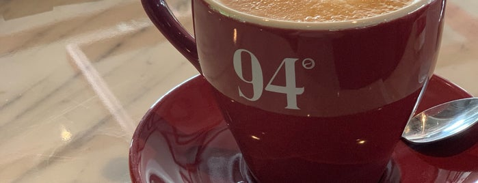 94° Coffee (ไนน์ตี้-โฟร์ คอฟฟี่) is one of Huang : понравившиеся места.