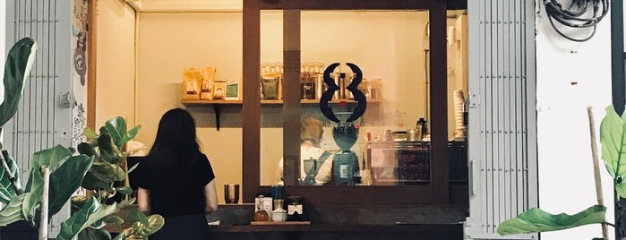 No8 Coffee is one of Lugares favoritos de Huang.