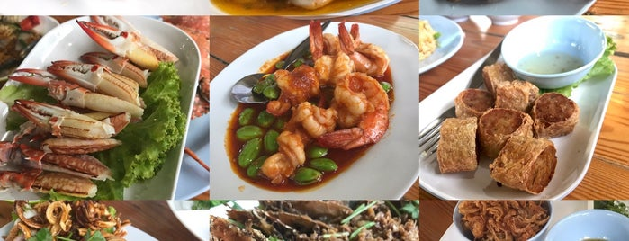 view talay seafood is one of Huang 님이 좋아한 장소.