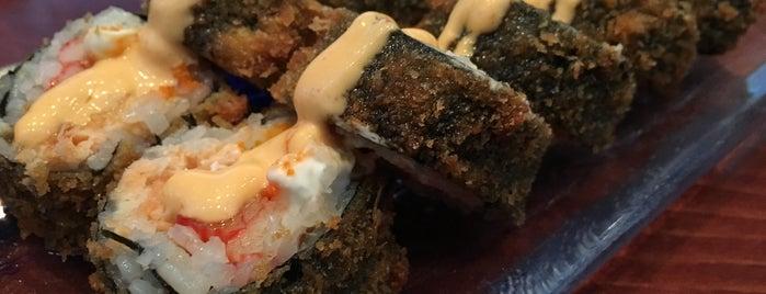Sushi Katana is one of Posti che sono piaciuti a Huang.