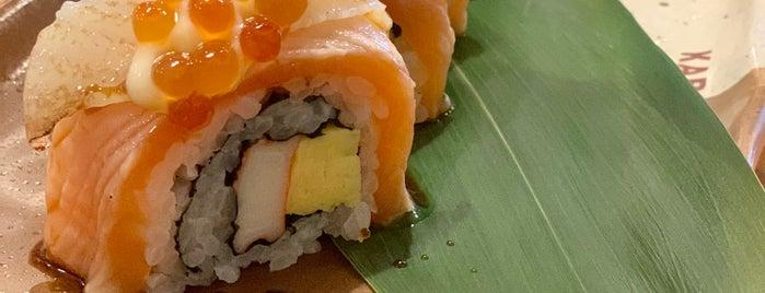 Kabocha Sushi is one of สถานที่ที่ Huang ถูกใจ.