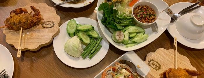 ร้านอาหารคุ้นลิ้น is one of Huang'ın Beğendiği Mekanlar.