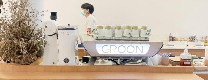 Groon is one of Huang 님이 좋아한 장소.