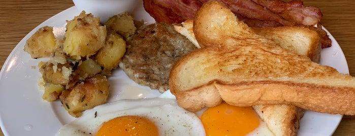 Breakfast Story is one of Tempat yang Disukai Huang.