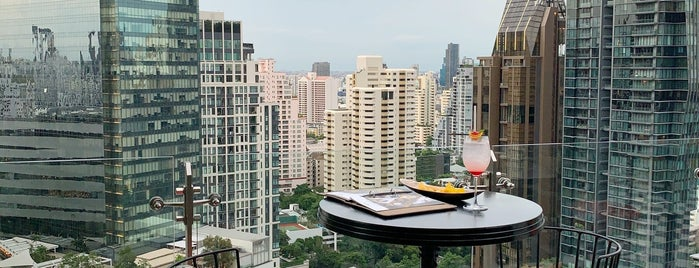 Mojjo Rooftop Lounge & Bar is one of สถานที่ที่ Huang ถูกใจ.