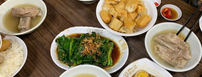 Song Fa Bak Kut Teh 松发肉骨茶 is one of Orte, die Huang gefallen.