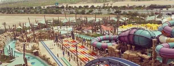 Yas Water World Abu Dhabi is one of สถานที่ที่บันทึกไว้ของ Iryna.