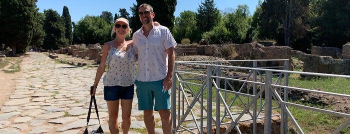 Ostia Antica is one of Italy.