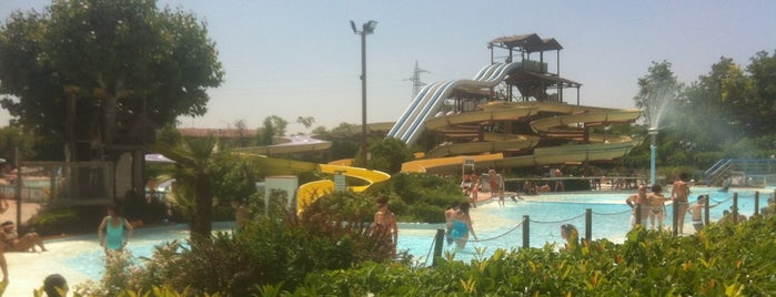 Aquaneva Water & Adventure Park is one of Divertimento.