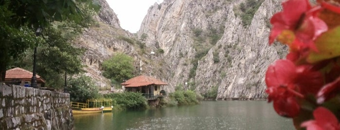 Hotel & Restaurant Canyon Matka is one of Lugares favoritos de Barış.