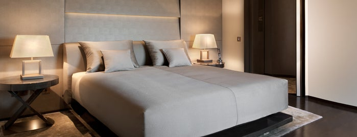 Armani Hotel Milano is one of The SurfaceHotels.com Guide to Salone Del Mobile.