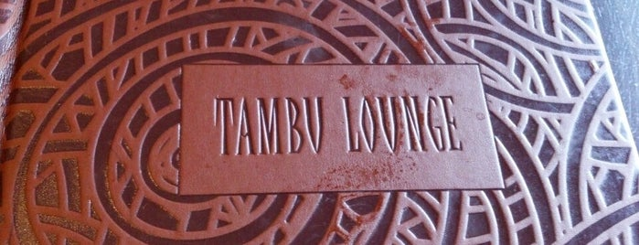 Tambu Lounge is one of Disney October 2016.