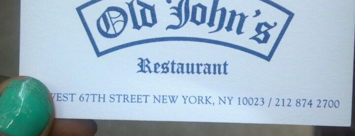 Old John's is one of food.