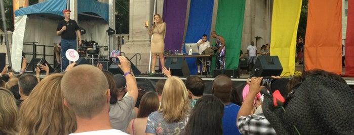 Pride Fest 2013 is one of Locais curtidos por Elizabeth.