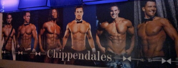 Chippendales Theatre at The Rio Vegas is one of Tempat yang Disukai laura.