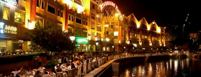 Clarke Quay is one of #myhints4Singapore.