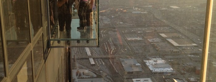 Skydeck Chicago is one of For the Love of Heights.