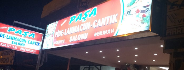 paşa pide ve lahmacun salonu is one of Locais curtidos por Emre.