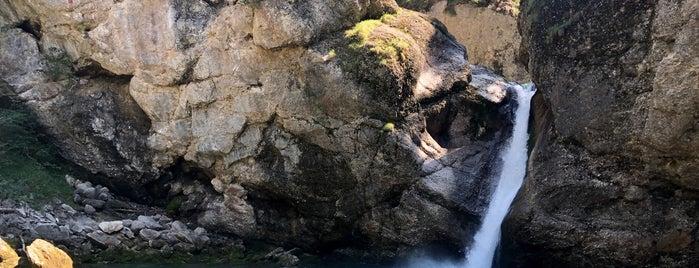 Buchenegger Wasserfall is one of Marcel'in Beğendiği Mekanlar.