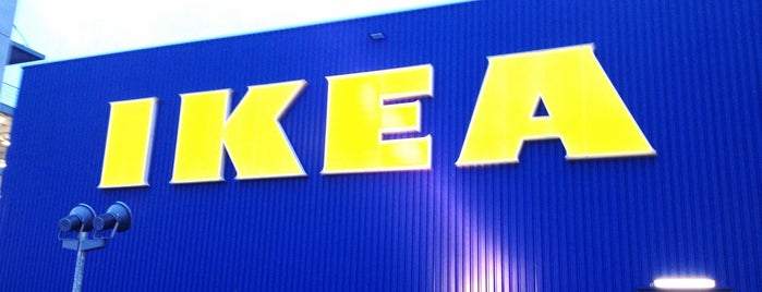 IKEA is one of Gespeicherte Orte von Steffen.