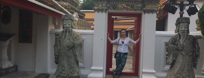 Wat Pho is one of Lieux qui ont plu à Cass.