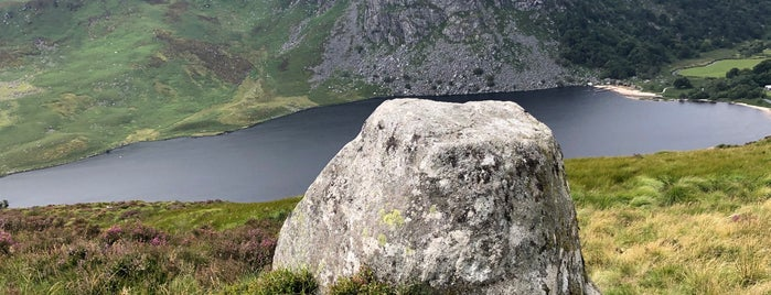Lough Tay | Guinness Lake is one of Orte, die Will gefallen.