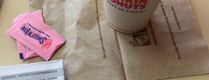 Dunkin' is one of My Favorite Places.