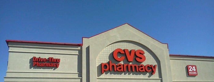 CVS pharmacy is one of สถานที่ที่ A ถูกใจ.