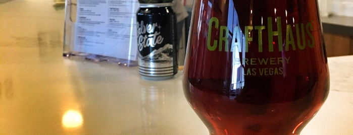 CraftHaus Brewery & Taproom is one of Viva Las Vegas.