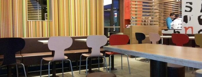 McDonald's is one of Orte, die Кристина gefallen.