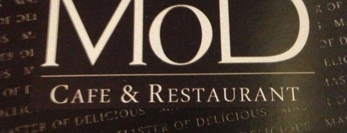 MoD Cafe&Restaurant is one of Cafe + diger restoranlar.