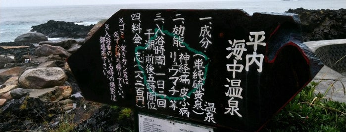 平内海中温泉 is one of Yakushima.