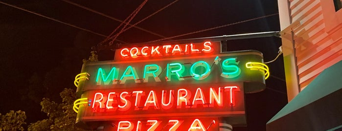 Marro's is one of Pizza.