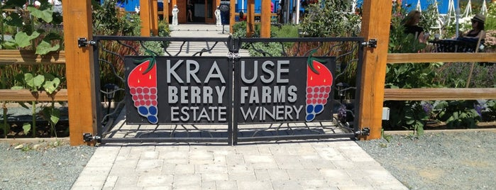 Krause Berry Farms & Estate Winery is one of Tried and tested... fave restaurants 🍽🍵☕️🍩🍰🍦.