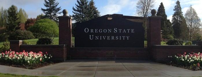 Oregon State University is one of MAQ'ın Beğendiği Mekanlar.